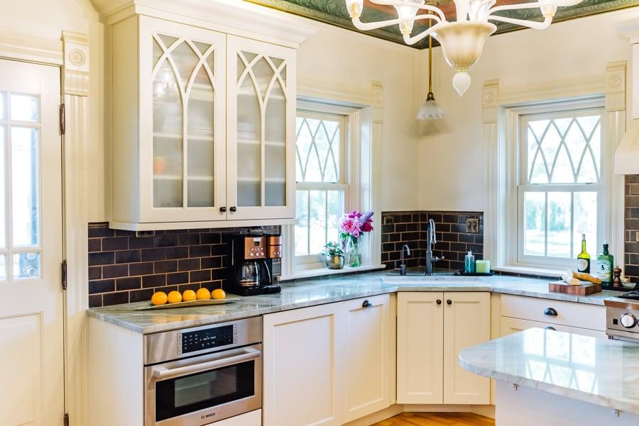 Victorian Kitchen Remodel detail
