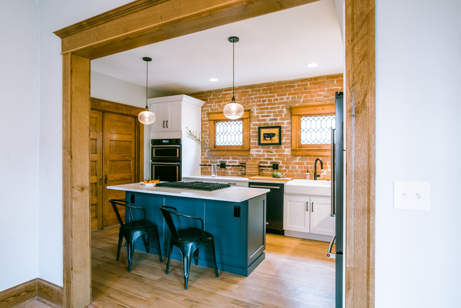 Denver Square Kitchen Remodel detail